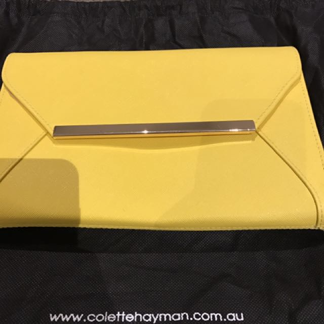 Colette Clutch With Gold Chain