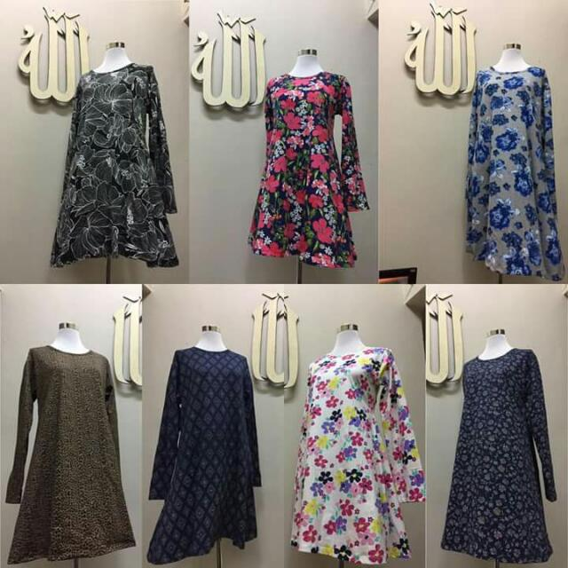 Contoh Blouse Muslimah Fashion On Carousell