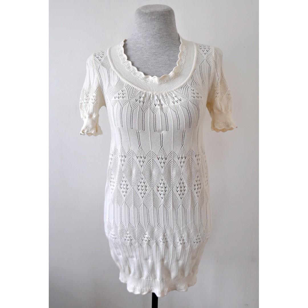 Crochet Body Con Dress