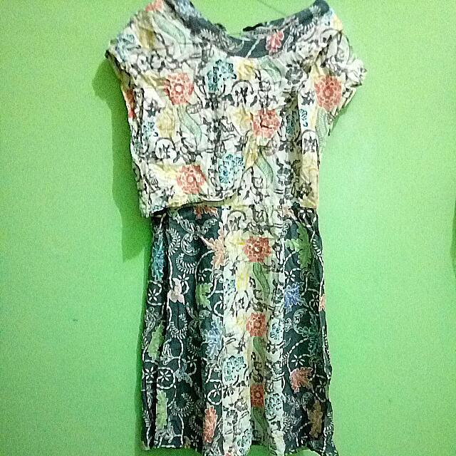 Dress Batik Cute