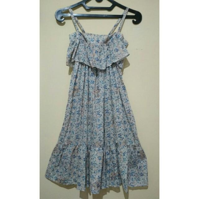 Dress Pantai Bunga