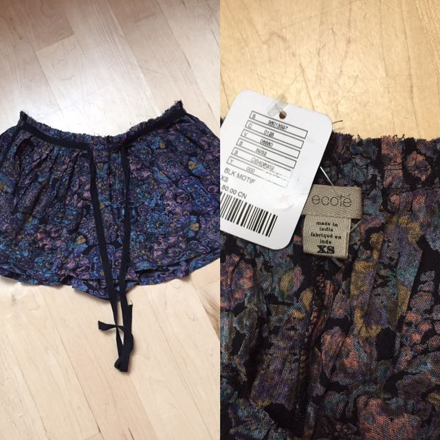 Ecote Urban Outfitters BNWT $50 Shorts Sz Xs