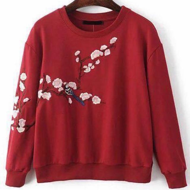 Embroided Sweater