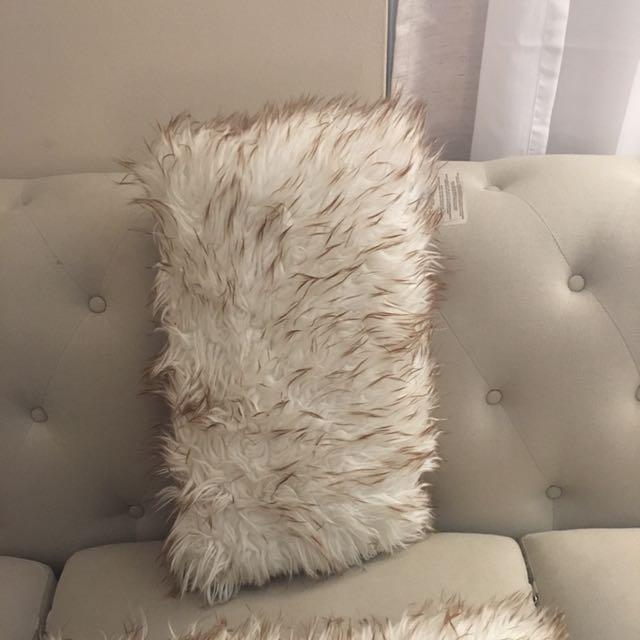 Faux Fur Pillows (2)