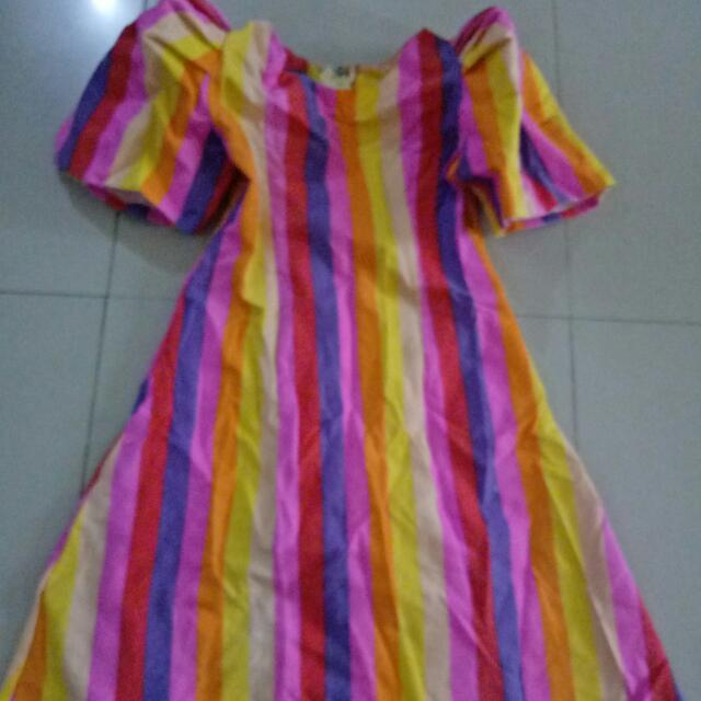 Filipiniana Dress For Girls 6-8 Yrs Old