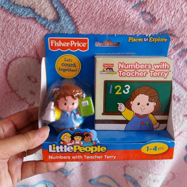 Fisher Price Little Pwople Toy With Booklet