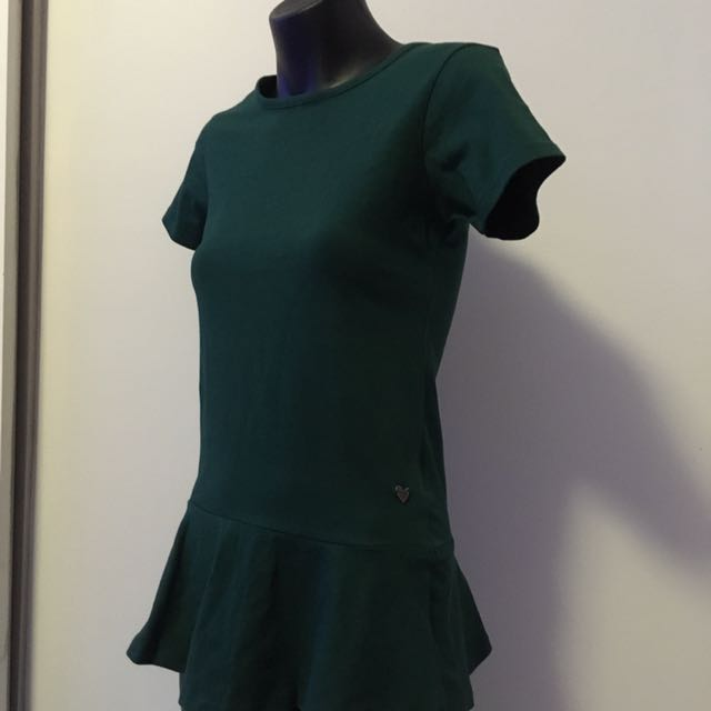 Flair Green Top size XS