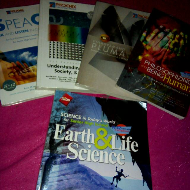 Get All These Grade 11 Shs Books For Only 500 Pesos (600 less 100)