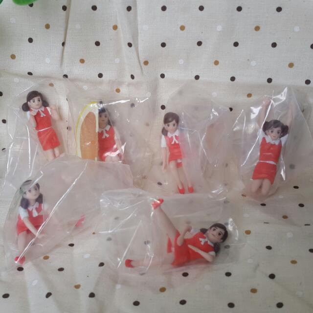 【黑皮GO】柳丁杯緣子/杯緣子玩具扭蛋
