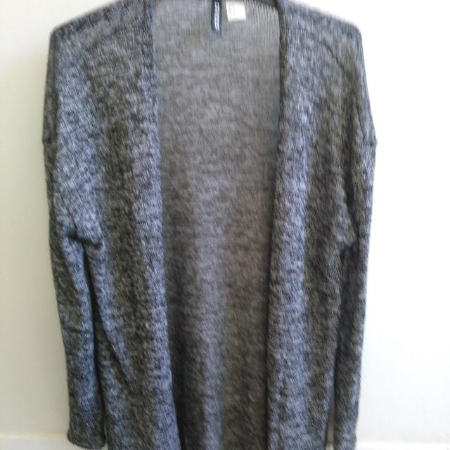 Grey H&M Divided Cardigan