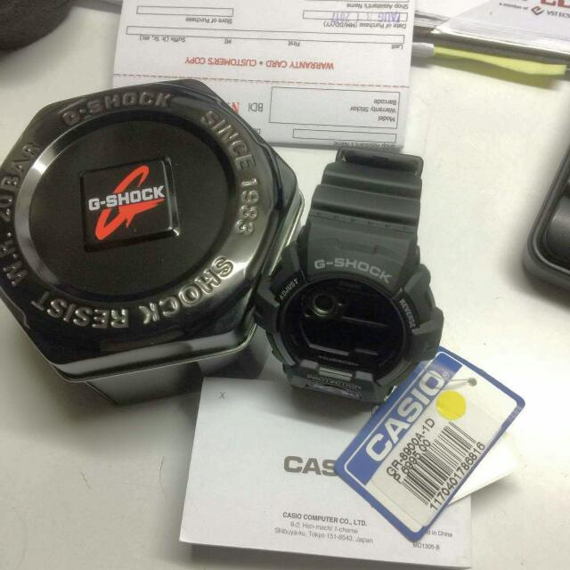 GSHOCK AUTH.  GR~8900 (orig price 6999.99) Selling it for 4ooo.oo