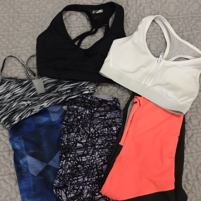 GYM CLOTHES SET OF 3