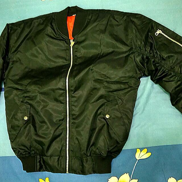 Jacket Bomber Black