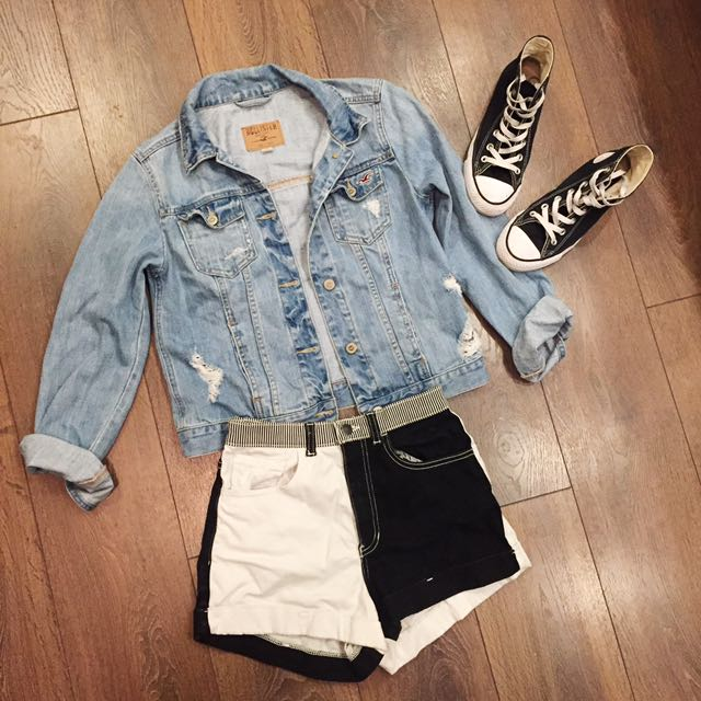 Hollister Denim Jacket (Boyfriend Style)