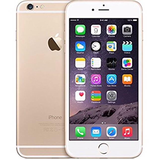 (二手女用機)i6plus 64G  Apple 蘋果 iphone6 plus 6+ 金色 土豪金 空機 5.5吋