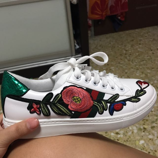 Gucci inspired sneakers, Women's