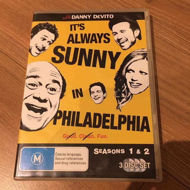 It's Always Sunny In Philadelphia TV DVD Box Set Seasons 1 &2