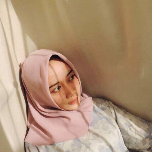 Jilbab Murah Polos Rawis