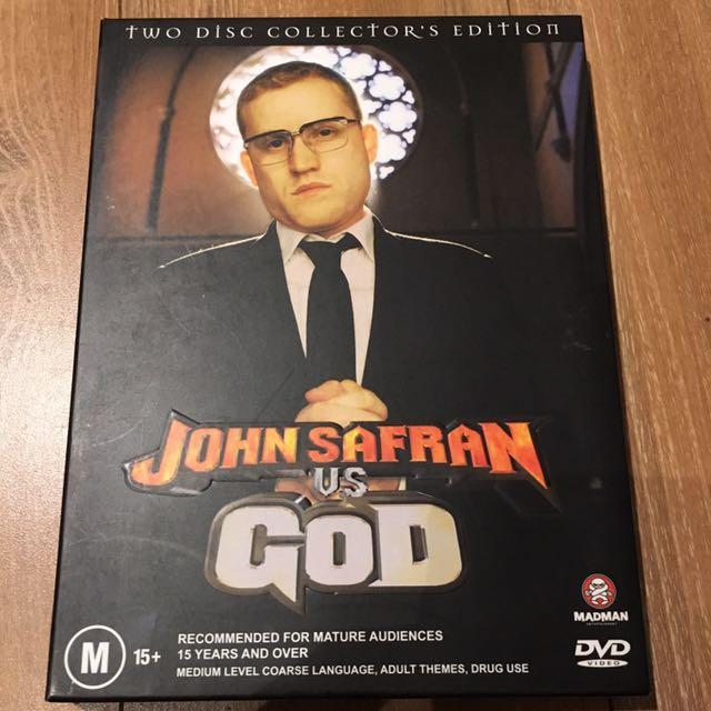 John Safran Vs God Box Set DVD