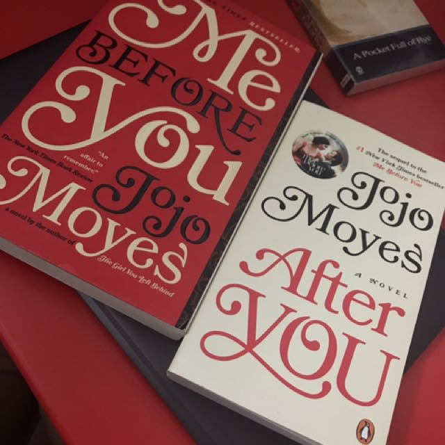 Jojo Moyes Novels Me Before You And After You
