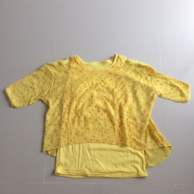Kawaii Yellow Top
