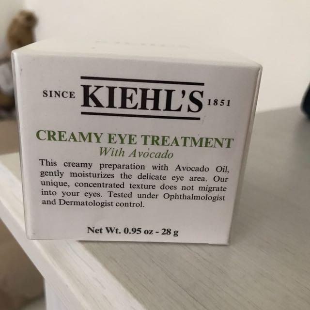 kiehl s 酪梨眼霜 Creamy Eye Treatment with Avocado
