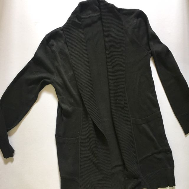 Korean Black Cardigan
