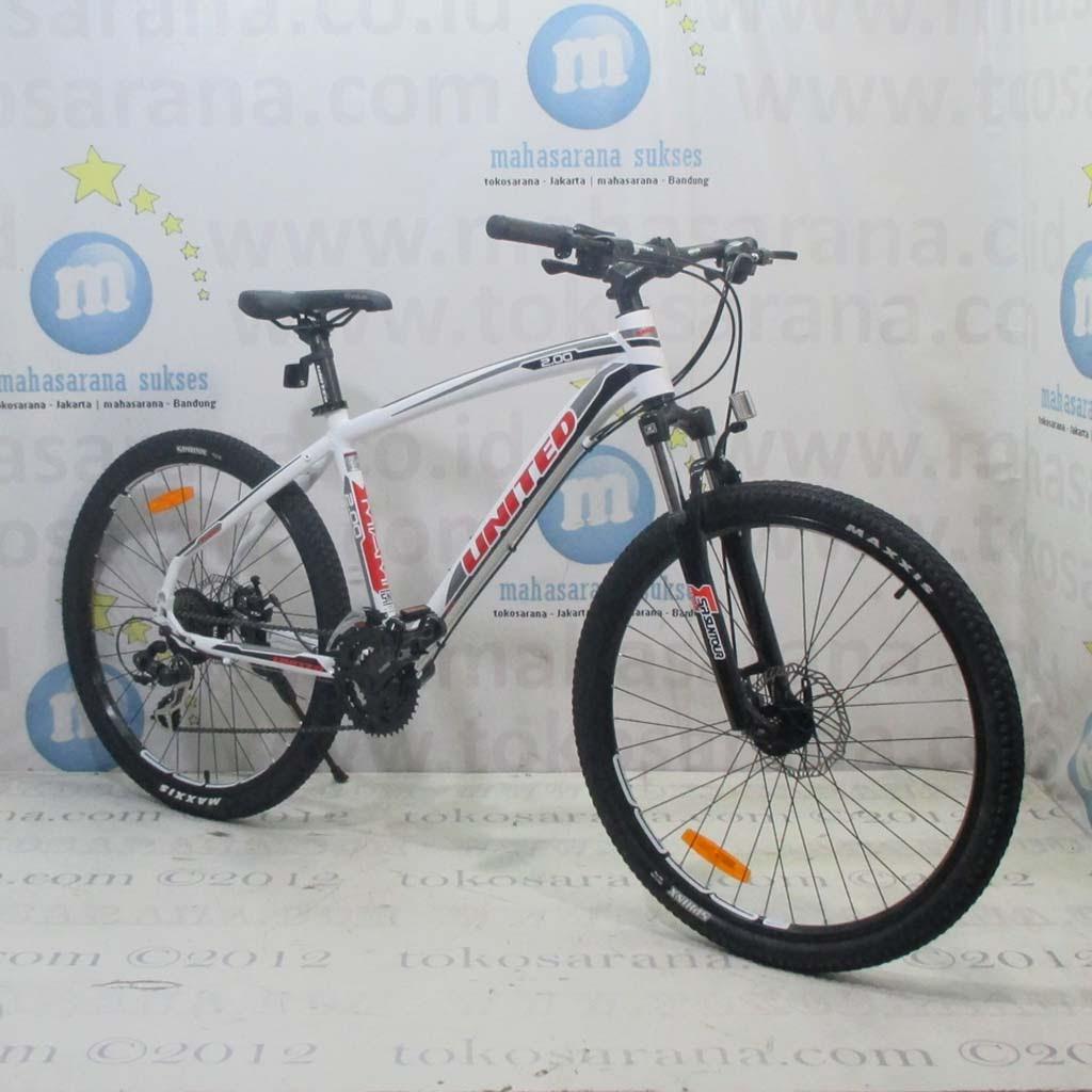 Kredit Cukup KTP 26in United Miami 200 21 Speed Disc Sepeda Gunung