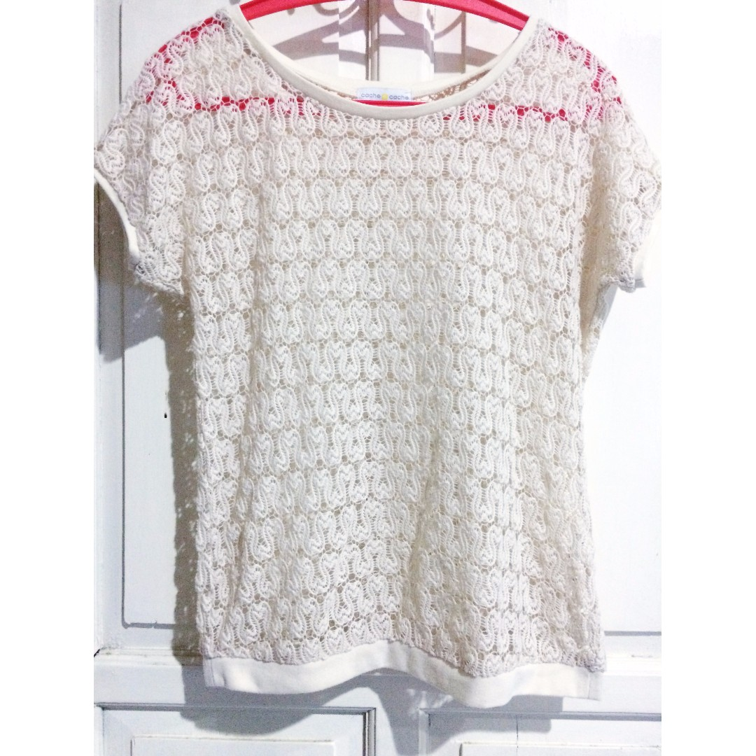 Lace Top from Cache Cache