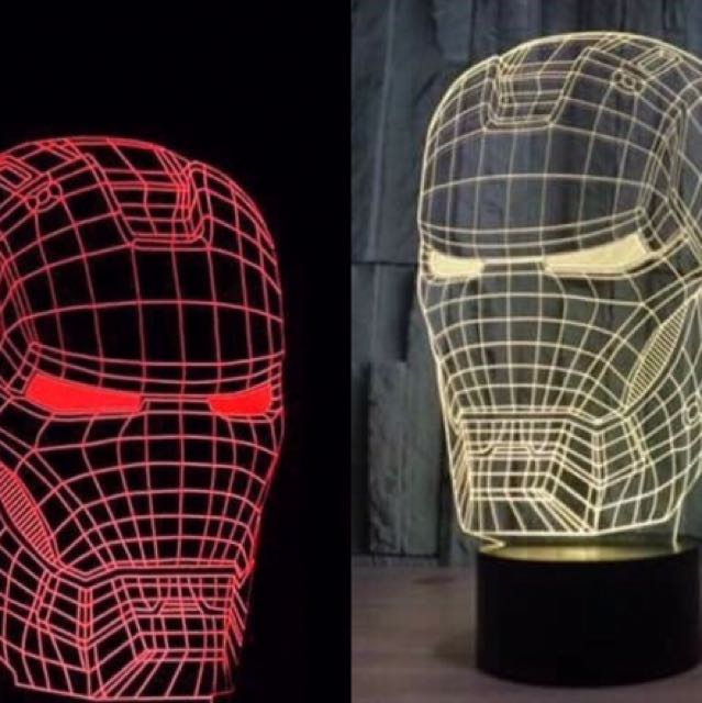 LED 3D Night Lamp