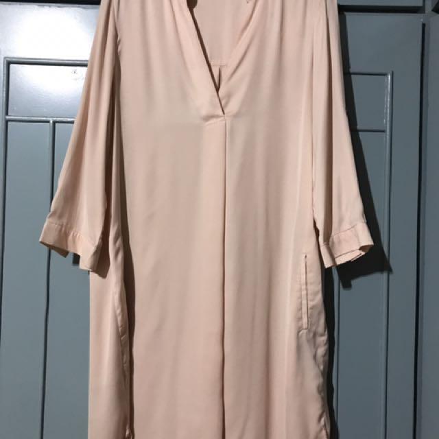 Mango 3/4 Sleeves Dress