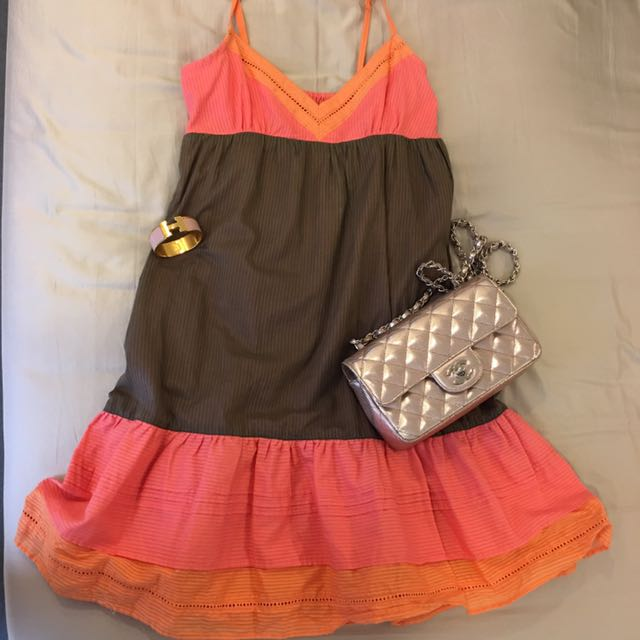 Mango 渡假風洋裝#MNG