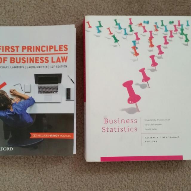 Melb Uni Law & QM textbooks