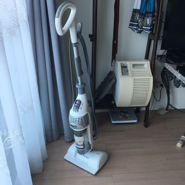 鯊科二合一蒸汽高溫拖地殺菌直立吸塵器mv2010tw