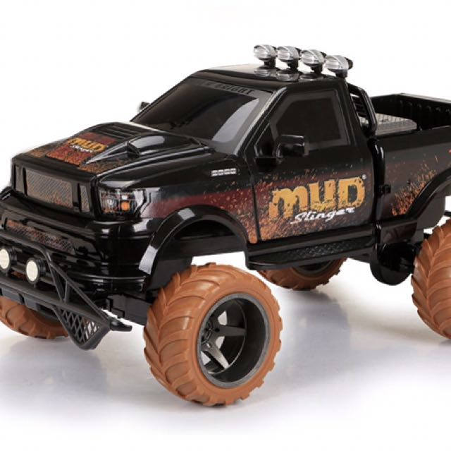 New Bright 1:6 Scale Off Road Race Truck - Mud Slinger - Black