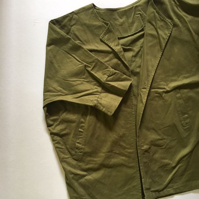 Olive Green Korean Jacket
