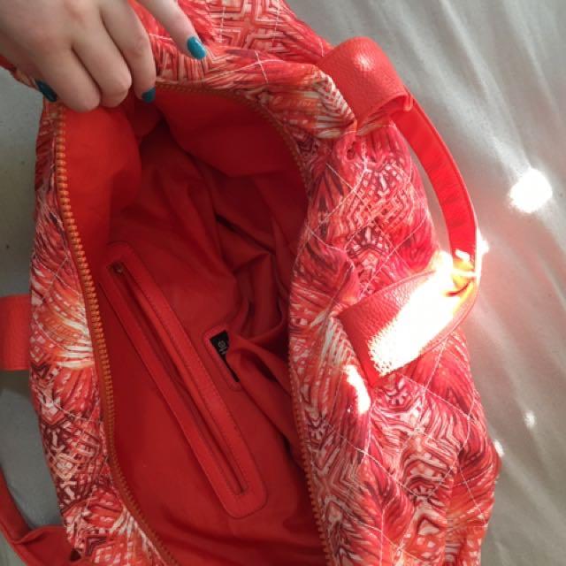 Orange Colette Travel Bag