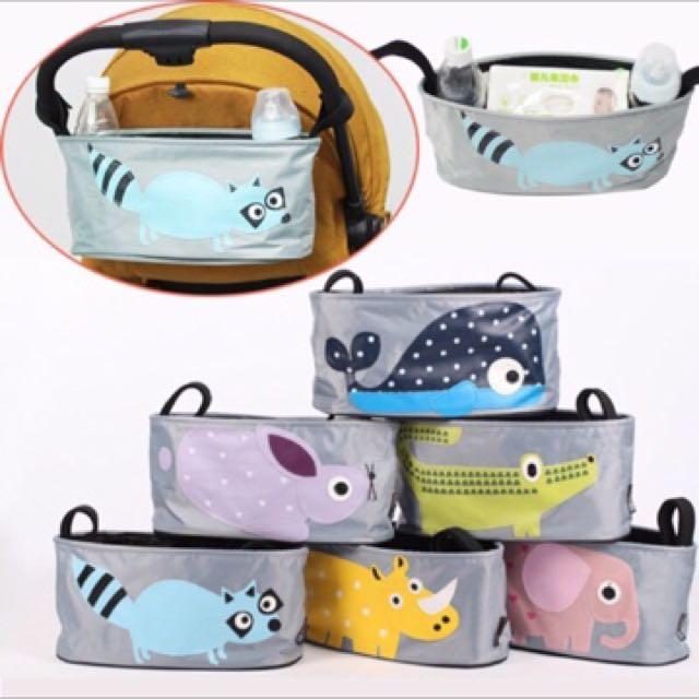 Oreo LaLa 🐈現貨 嬰兒手推車掛袋寶寶手推車收納袋媽媽包寶貝手推車配件儲物袋