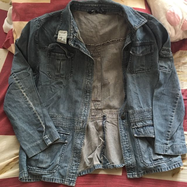 🌸Over Sized Denim Jacket