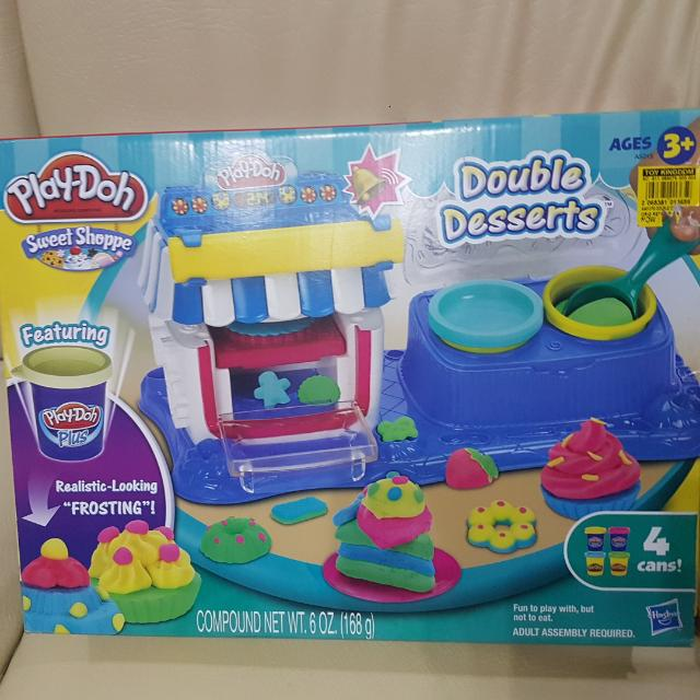 Play-Doh Double Dessert Ages 3+