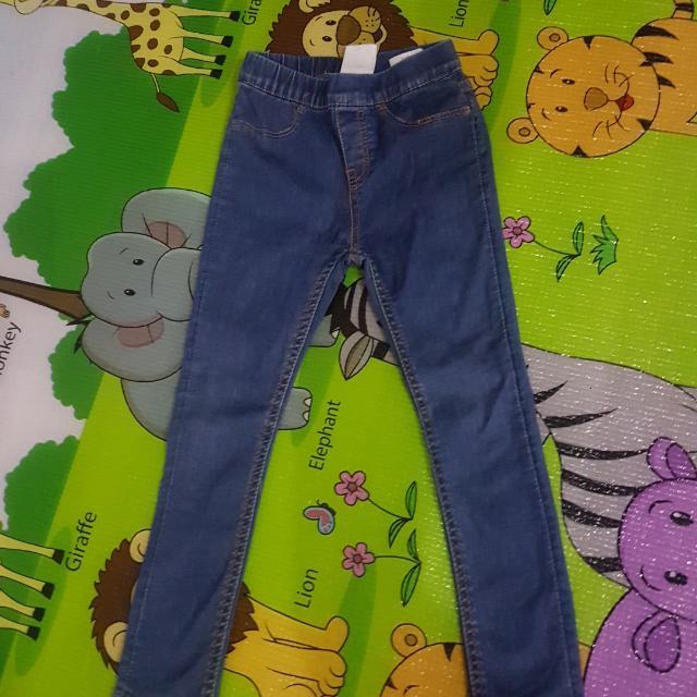 Preloved H&M Girls Denim Skinny Jeans