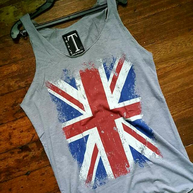 Printed Tank Tops (Medium To Large)