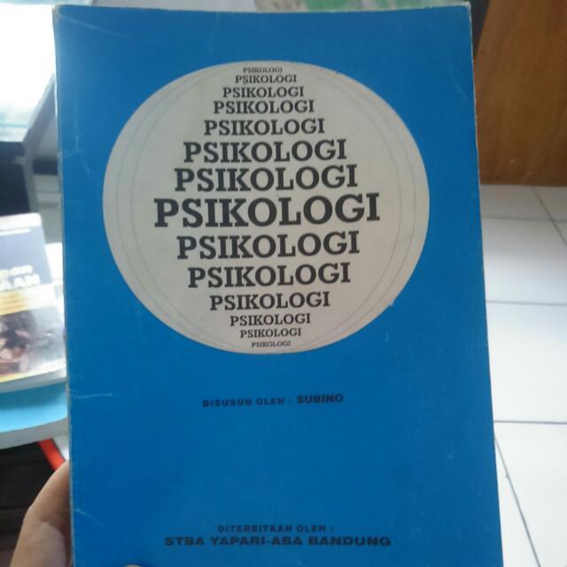 Psikologi Oleh SUBINO