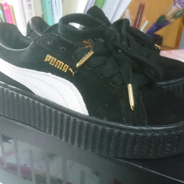 Puma厚底鞋