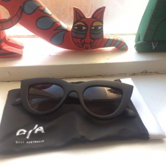 Quay Cats Eye Sunglasses