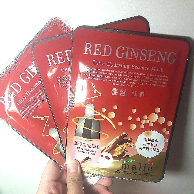 Red Ginseng Sheet Mask