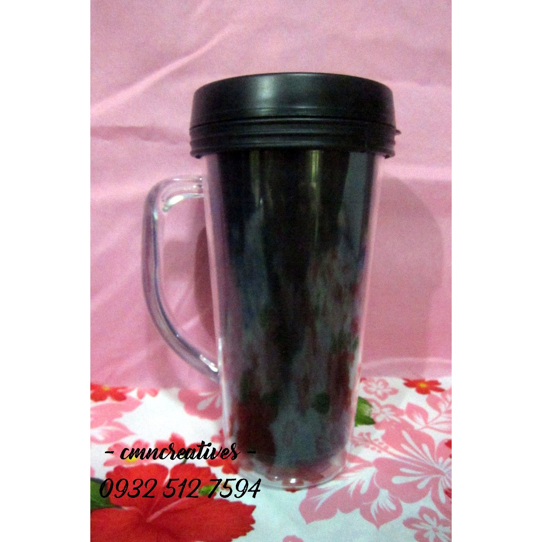 Regular Tumbler with Handle | Personalized