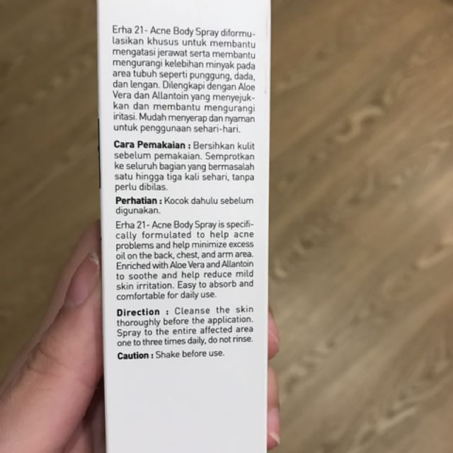Rh Spray For Skin