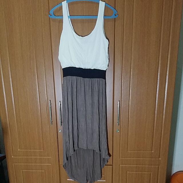 Seductions Long Back Dress