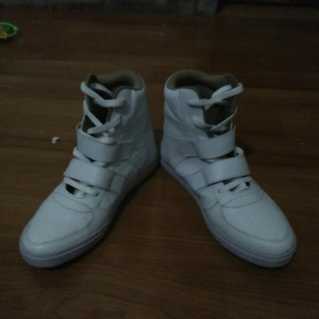 Sepatu Sneakers wedges 5cm uk 39